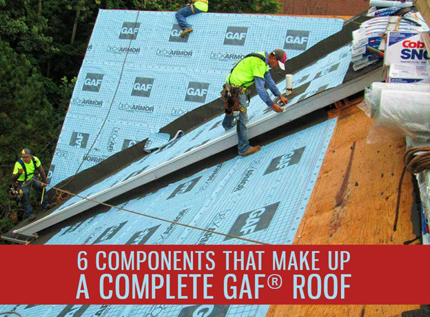 6 Components that Make Up a Complete GAF® Roof