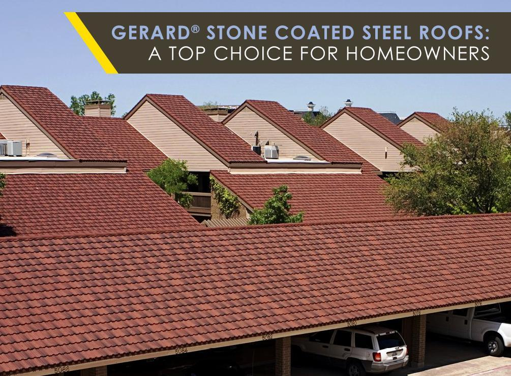 Stone Coated Steel Roofs