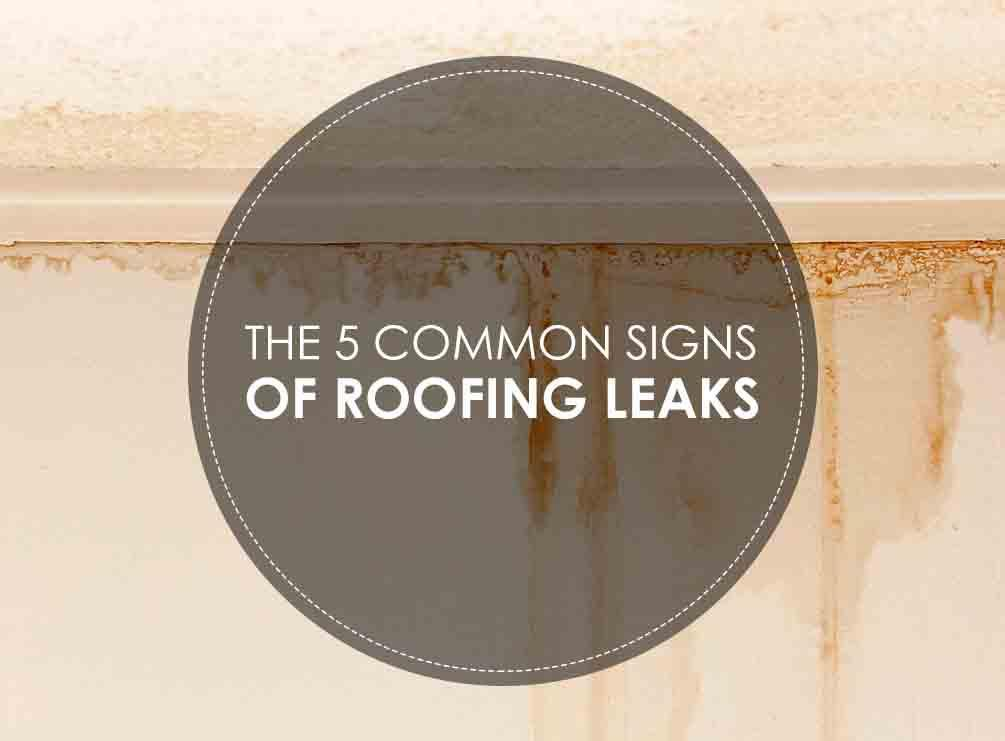 Signs of Roofing Leaks