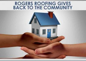 Rogers Roofing Gives Back to the Community