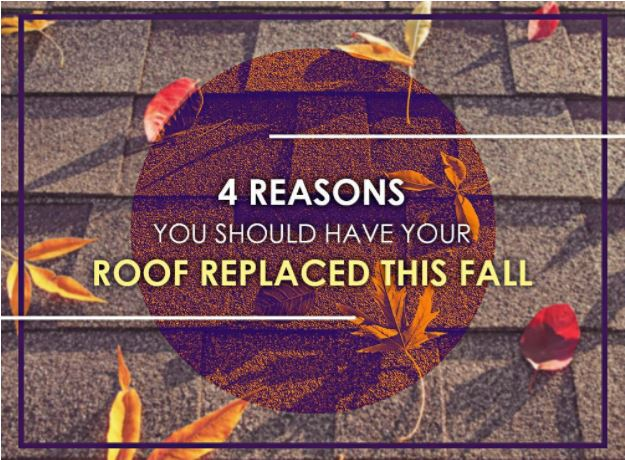 4 Reasons You Should Have Your Roof Replaced This Fall