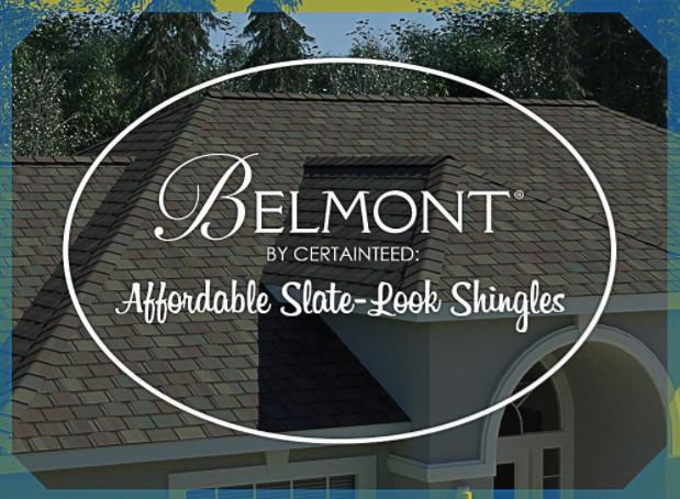 Belmont By Certainteed Affordable Slate Look Shingles