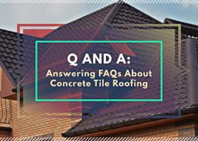 Q and A: Answering FAQs About Concrete Tile Roofing