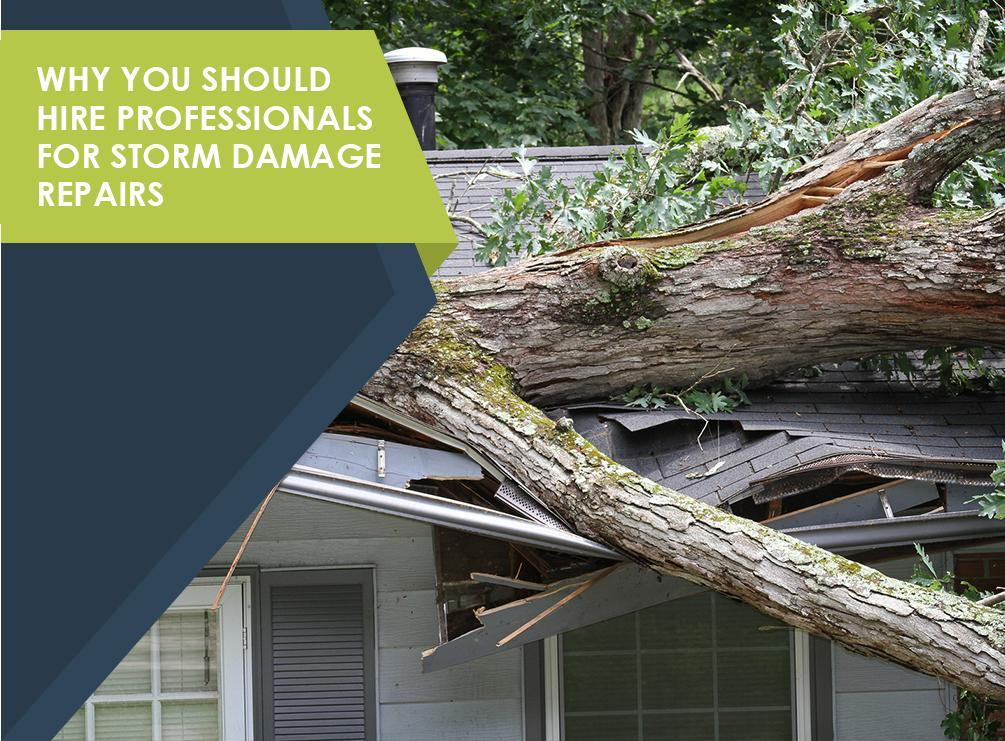 Why You Should Hire Professionals for Storm Damage Repairs