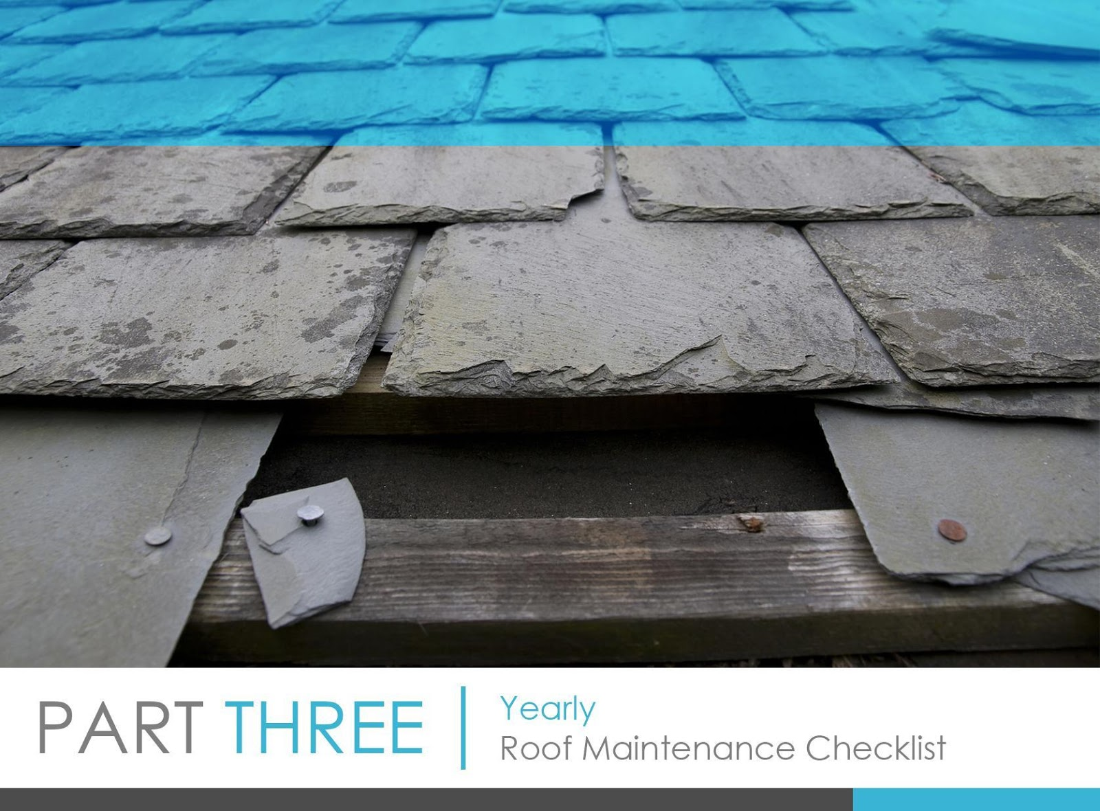 Yearly Roof Maintenance Checklist
