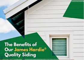 The Benefits of Our James Hardie® Quality Siding