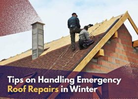 Tips on Handling Emergency Roof Repairs in Winter