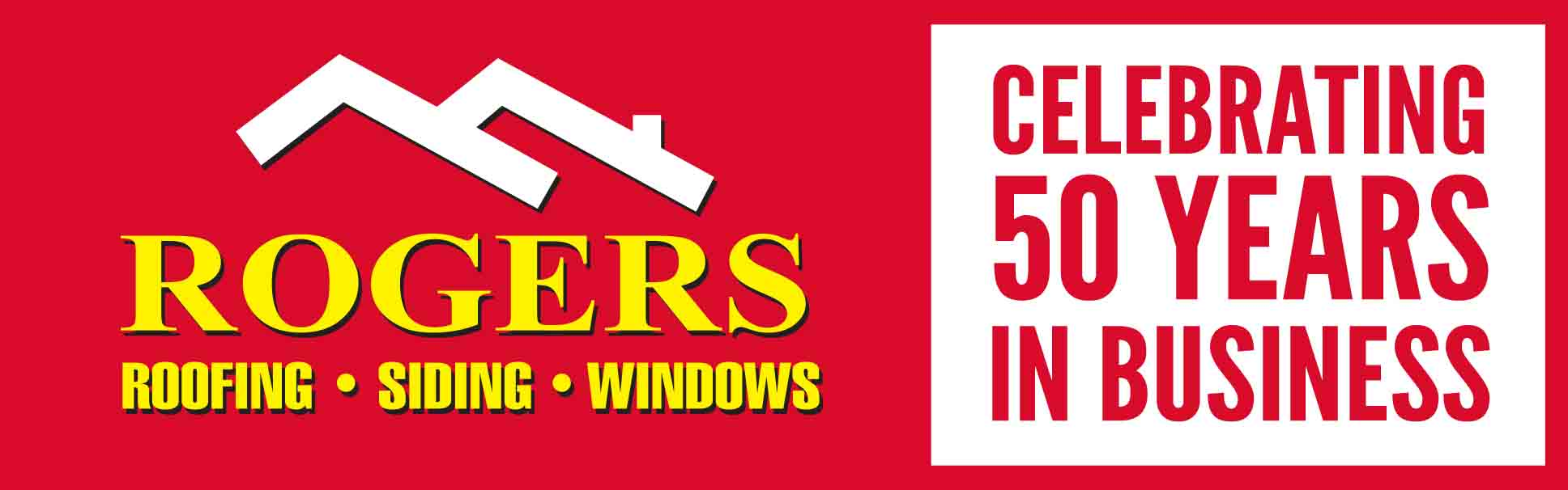 Rogers Roofing 50 Years In Business