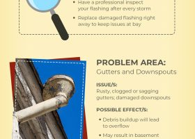 Infographic: Common Roofing Problems and Recommended Solutions