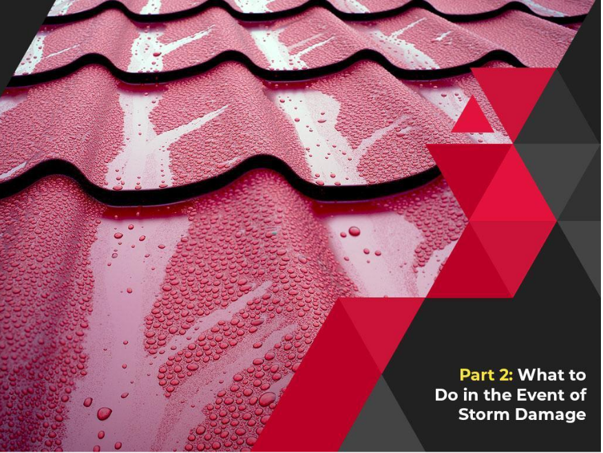 Taking Care of Your Residential Roof: A Basic Guide - Part 2: What to Do In the Event of Storm Damage